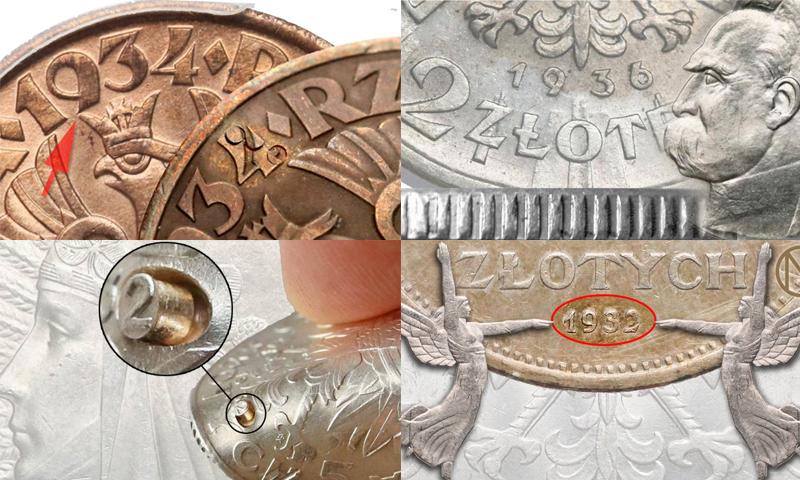 Fałszerstwa monet II RP
