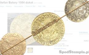 fałszerstwo dukata gdańskiego 1584