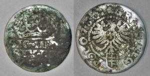 Fals grosza krakowskiego 1601