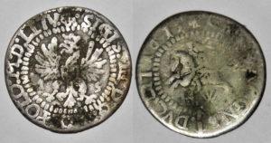 Fals grosza wileńskiego 1615