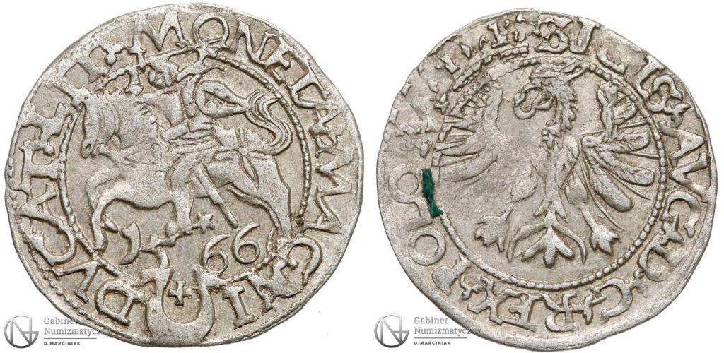 Półgrosz tykociński 1566