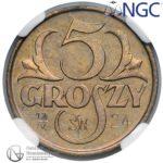 Próba 5 groszy 1923