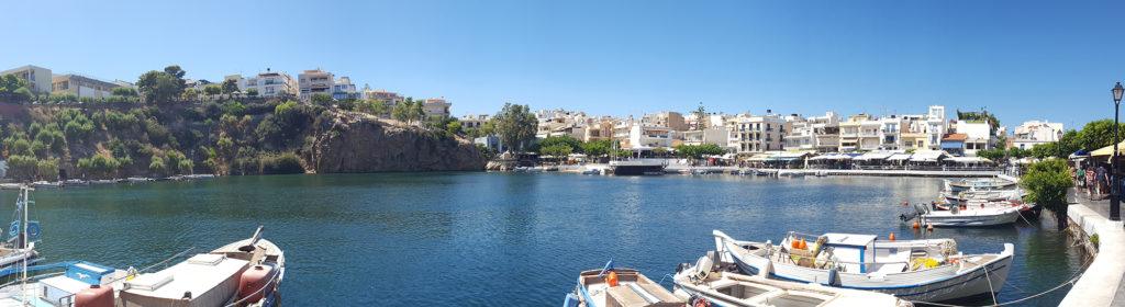 Bezdenne jezioro w Agios Nikolaos