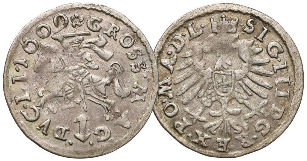 Grosz wileński 1609