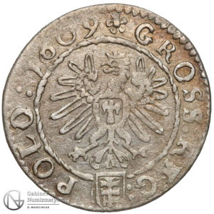 Grosz krakowski 1609