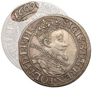 Ort gdański 1609