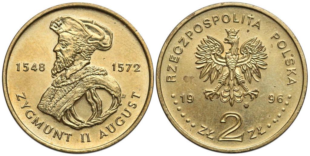 Pierwsza dwuzłotówka Nordic Gold