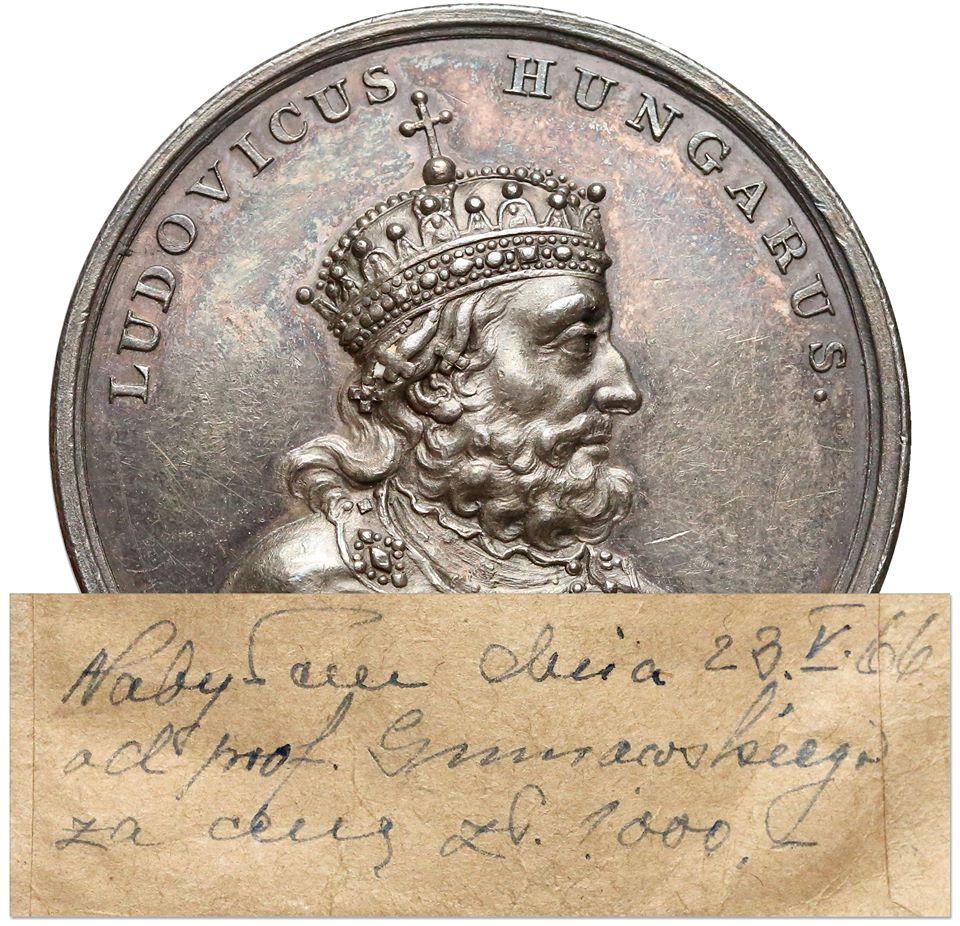 Medal z Suity, kupiony w 1966 roku od prof. Gumowskiego