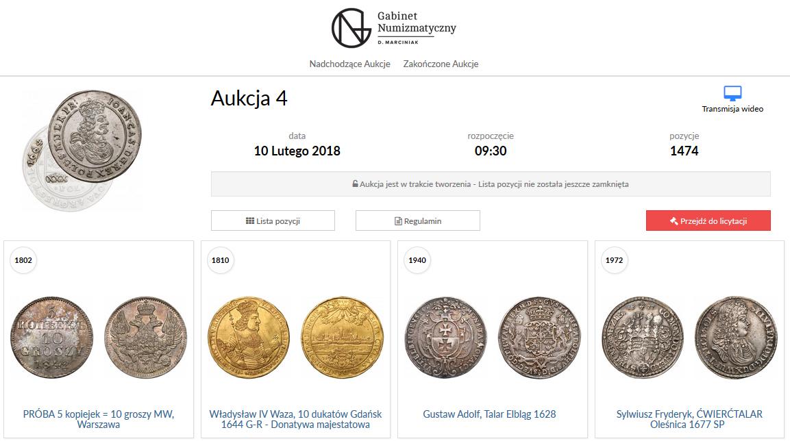 4 aukcja GNDM zacznie wiosnę :)