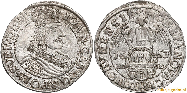 Ort Toruń 1663 - oto prowodyr
