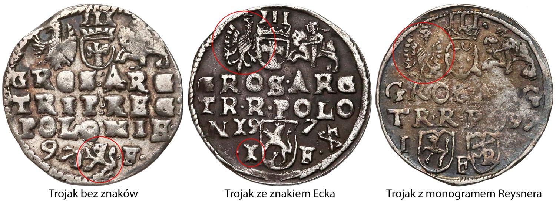 Trojaki przy których pracował ten mincerz