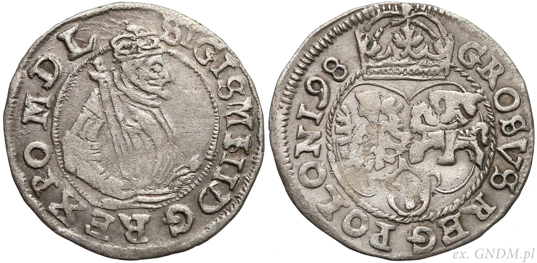 Grosz 1598 - oto dlaczego wybił go Lublin!