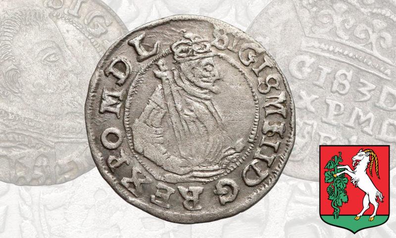Postaciowy grosz Lublin 1598