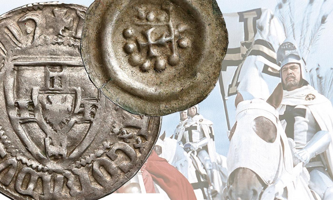 Zakon Krzyżacki monety